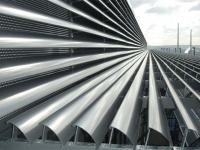 Futuristische Installation der Firma Wirth