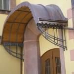 Vordach Kirche Lunzenau